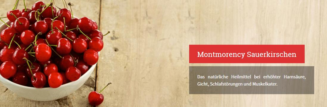 Montmorency Sauerkirschen